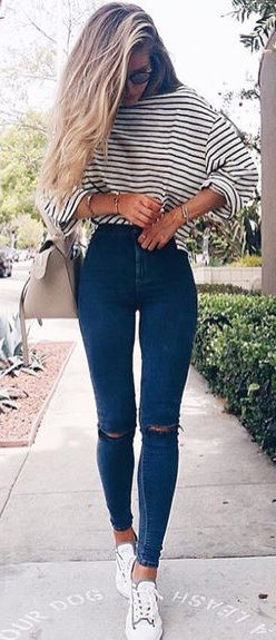 fall-fashion-oversized-striped-shirt-denim