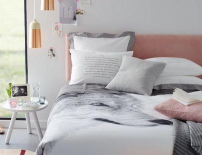 quarto-decorado-com-cinza-rosa-e-cobre