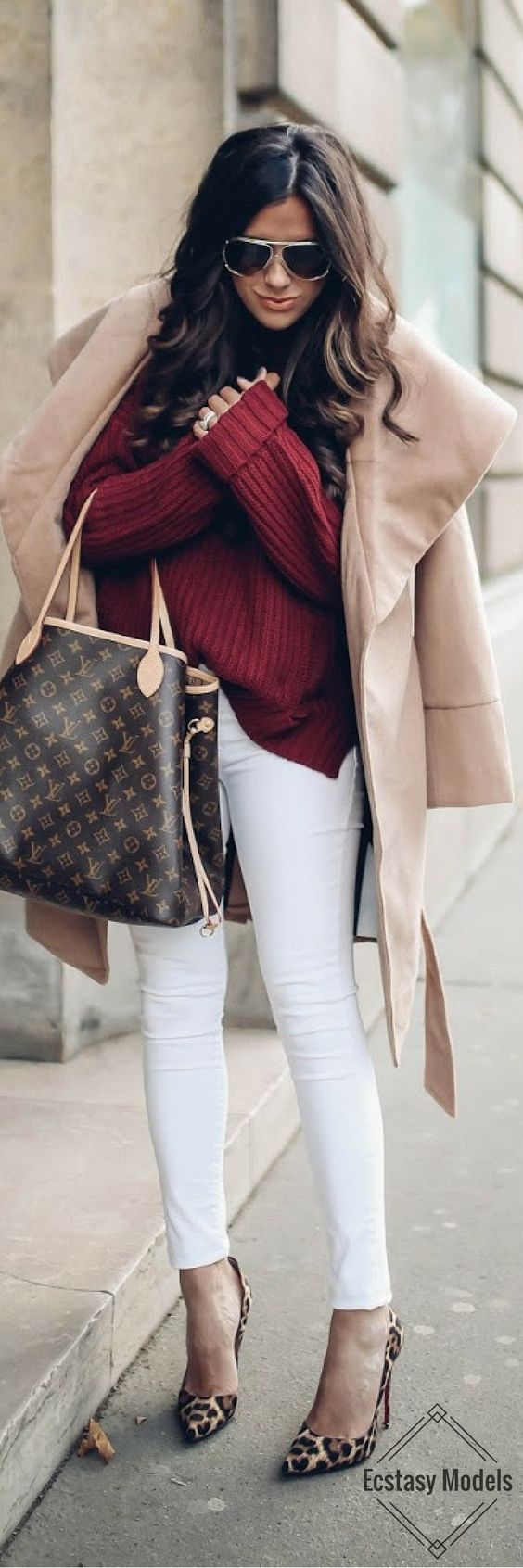 BORDEAUX & CAMEL FOR FALL
