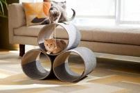 gatos - casa-para-gatos arquitrecos via lendo mais