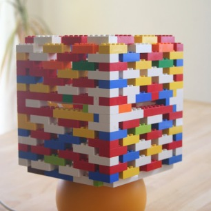 LEGO-lamp-shade