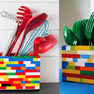 Porta-Utensílios-Lego