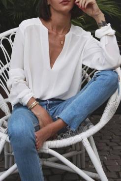Camisa Branca e Jeans (6)